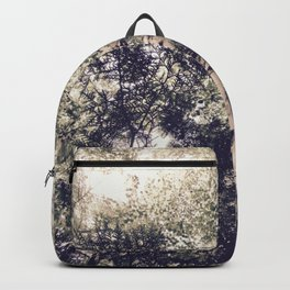 Dappled Light Filtered Through Trees Backpack