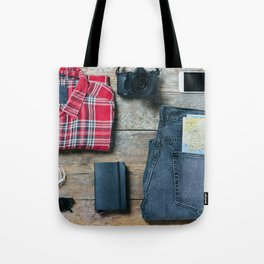 Get ready for the trip. Man edition Tote Bag