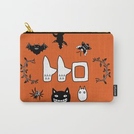 My Neighbour Creatures in Satsuki's dress orange Carry-All Pouch