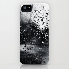 'Side View Rain' Slim Case iPhone (5, 5s)
