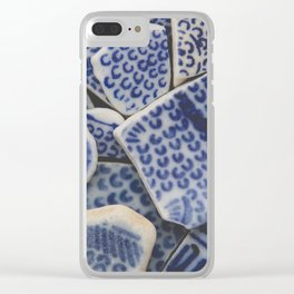 Japanese Sea pottery - Collection II Clear iPhone Case