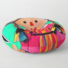 Mexican Maria Doll 3 Floor Pillow