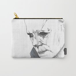 Happy Halloween, Michael Myers Portrait Carry-All Pouch