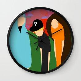 The Prime Trio Wall Clock