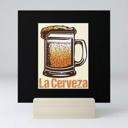 Loteria - La Cerveza Mini Art Print