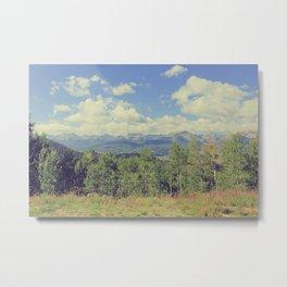 Boreas Pass Mountainscape Metal Print