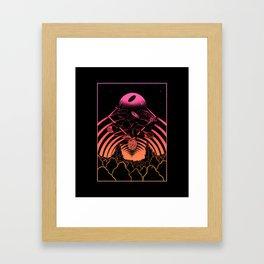 GOD'S $IGN Framed Art Print