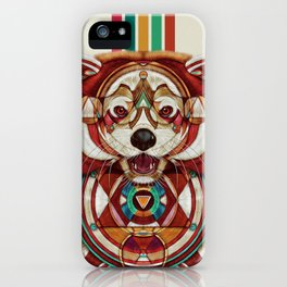 Red Panda by Giulio Rossi iPhone Case