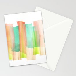[161228] 5. Abstract Watercolour Color Study |Watercolor Brush Stroke Stationery Cards