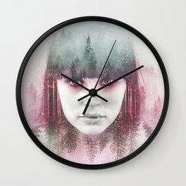 Forest Exposition Wall Clock