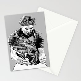 Rafa is Pumped Stationery Cards