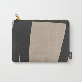 Neutral Abstract 4A Carry-All Pouch