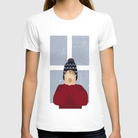home alone T-shirts featuring Home Alone by Robert Scheribel