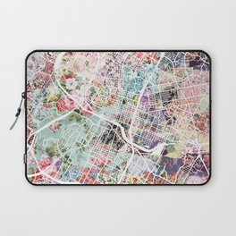 Austin map - Portrait Laptop Sleeve