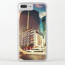 miami downtown Clear iPhone Case