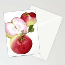 Pink Pearl Apple Stationery Cards