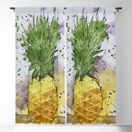 Pineapple Crush Blackout Curtain