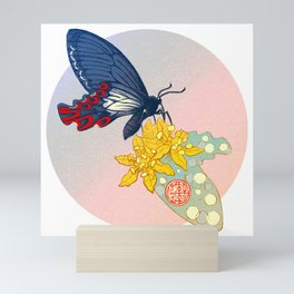 Swallowtail and Sassafras Mini Art Print