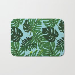 Monster Leaves Bath Mat