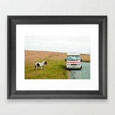 Dartmoor Pony Fancies an Ice Cream Framed Art Print