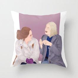 Nooreva (Skam) Throw Pillow