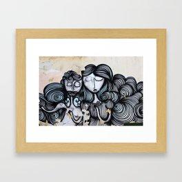 LES BELLES Framed Art Print