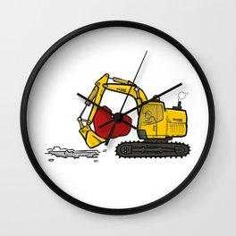 Heart Digger Wall Clock