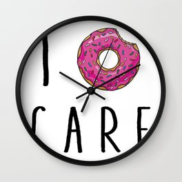 I donut Wall Clock