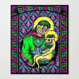 The Holy Alpaca Canvas Print