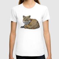 kit king T-shirts featuring Fox Kit by ZHField