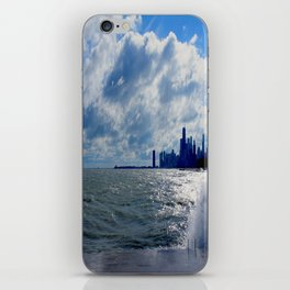 When Sandy Made Waves in Chicago #4 (Chicago Waves Collection) iPhone Skin