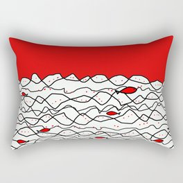 Fish and some other sea Rectangular Pillow