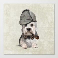 Sir Dandie Dinmont Terrier Canvas Print