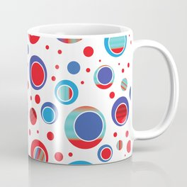 Eccentric Circles 13 Coffee Mug