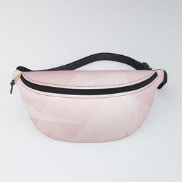 Abstract polygonal landscape Fanny Pack