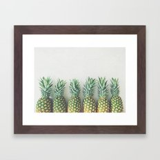 It's All About the Pineapple Framed Art Print