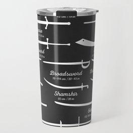 Sword Types Travel Mug