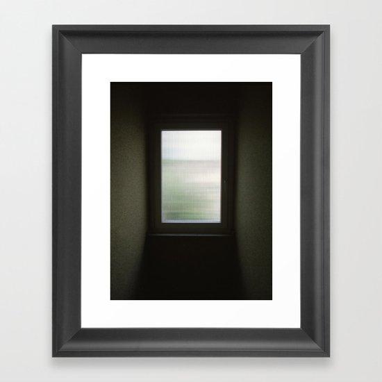Windowcolour Framed Art Print