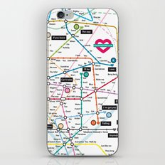 Love Map iPhone & iPod Skin