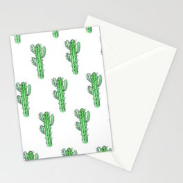 Saguaro Love II PATTERN Stationery Cards