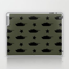 M1 Abrams Tank Pattern Laptop & iPad Skin