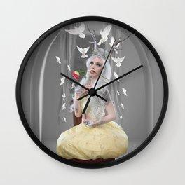 Melanie under glass Wall Clock