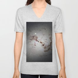Elliptical Galaxy Unisex V-Neck