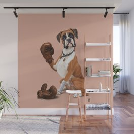 The Boxer (colour) Wall Mural