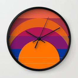 Spring- Pantone Warm color 06 Wall Clock