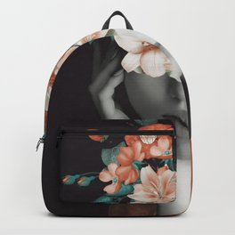 WOMAN WITH FLOWERS 7 Backpack