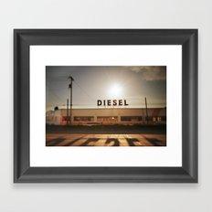 Diesel Framed Art Print
