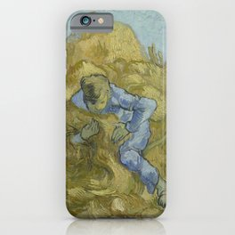 The Sheaf-Binder (after Millet) iPhone Case