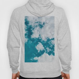 Sky Blue - Clouds Skyscape Photography Hoody