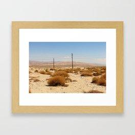 Road Less Traveled 001 Framed Art Print